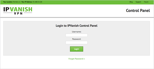 Getting started with a VPN is easy with IPVanish